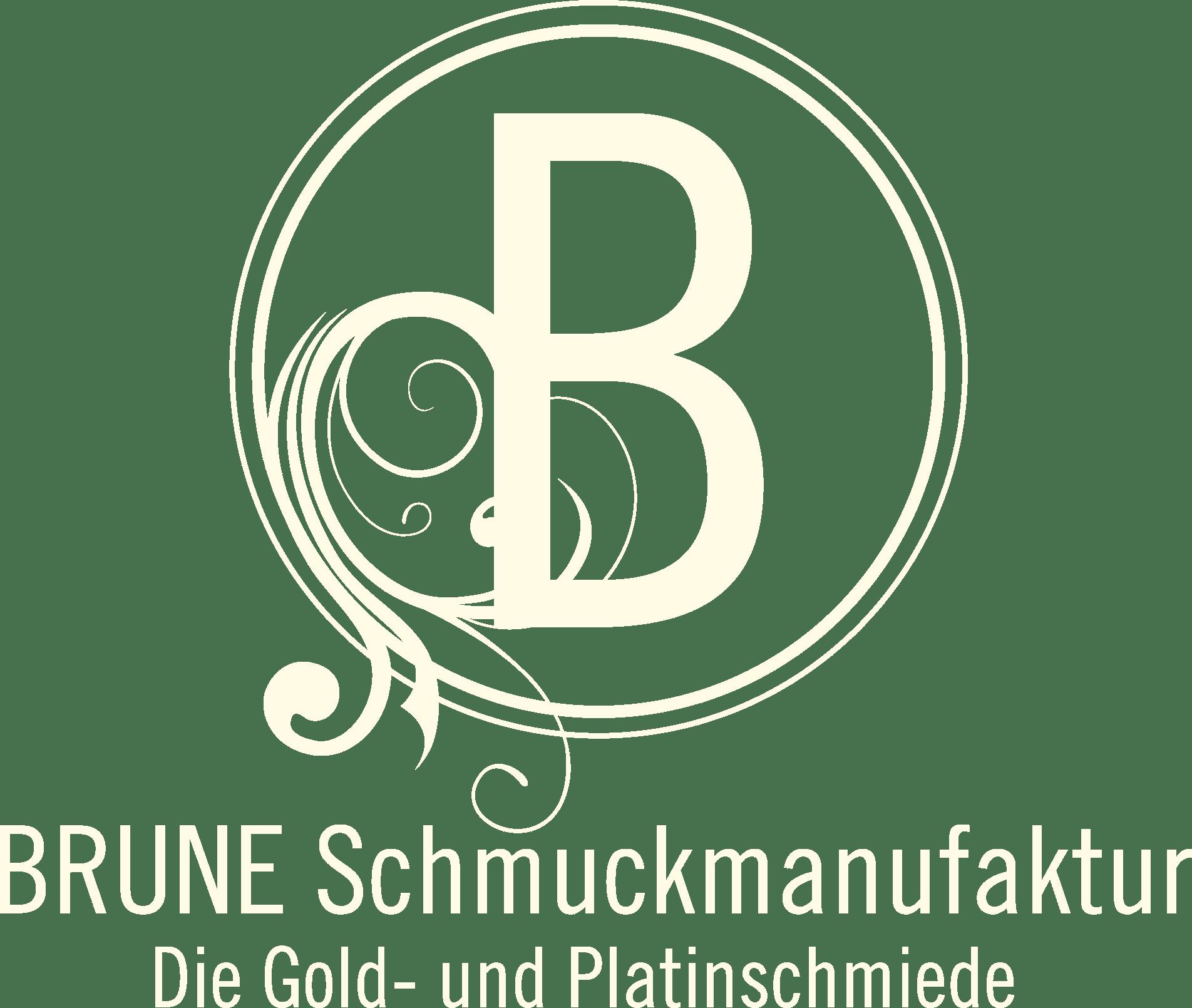 Brune Schmuckmanufaktur Hattingen Logo creme